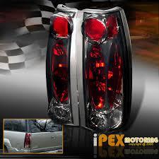 1998 chevy silverado tail lights 94 98 chevy silverado tahoe 10pc smoke headlights signal lights