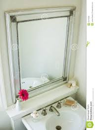 bathroom mirror royalty free stock images image 33444239