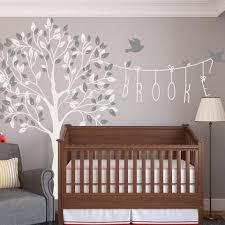 Tree Nursery Wall Decal Childrens And Wall Stickers Nursery Wall Vinyls By Wallboss