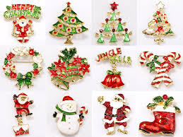 amazon com ilovediy christmas tree brooches and pins in bulk for
