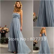 bluish grey bridesmaid dresses mother of the bride dresses