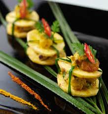 indian canapes ideas poppadom scoops catering canapes snacks and food