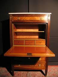 bureau secretaire antique bureau style directoire bureau et sa chaise en acajou style