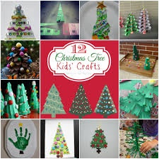 teach me tuesdays 12 christmas tree kids crafts mine for the making