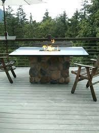 Bar Height Fire Table Dining Table Dining Height Fire Pit Table Bar Round Patio With