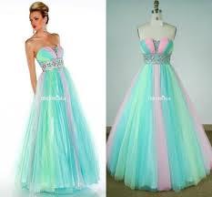 dress rainbow dress rainbow color ball gown tulle ball gown