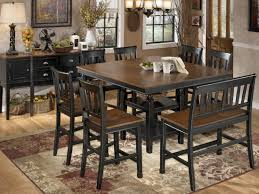 owingsville square counter height dining room set d580 ashley