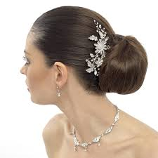 bridal hair accessories uk leanne bridal hair comb wedding hair comb