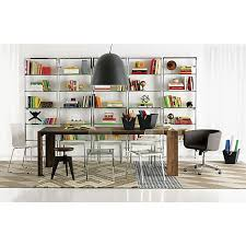 Wall Shelving Units by 2 Beautiful Glass Wall Shelving Units Cb2 Tesso In Old Town