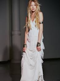 hippie boho wedding dresses hippie bohemian wedding dresses for a summer