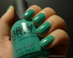 i relish nail polish orly green with envy and haul swatches