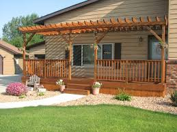Deck Plans With Pergola by Build Your Beautiful Exterior Design With Exquisite Decks With