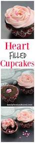 pink buttercream icing recipe filled cupcakes buttercream
