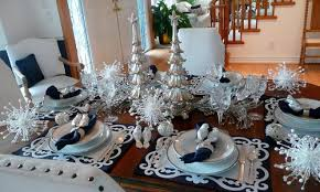 red and silver christmas table settings alluring red and silver christmas table decorations with christmas