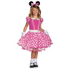 girls halloween costumes kids disney pink minnie girls costume 67 99 the costume land