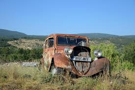 old rusty cars got rust try converting it to a protective seal
