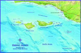 islands map channel islands national park california wall map maps