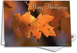 sunlit leaves deluxe thanksgiving folding card smartpractice