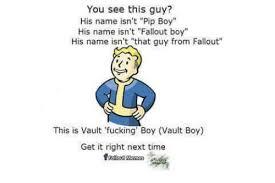 Vault Boy Memes - you see this guy his name isn t pip boy his name isn t fallout boy