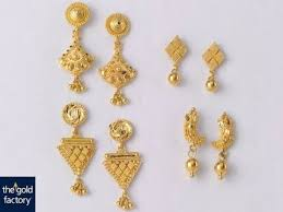 fabulous earrings fabulous gold earring designs with weight price