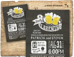 bbq beer baby shower invitation baby q invite coed barbecue