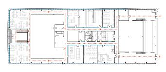 plan des bureaux plan niveau 1 bureaux et laboratoires sophysa brigitte metra