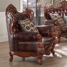 canape indien indien de canapés en cuir véritable canapé classique en bois