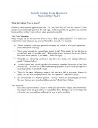 Example Of A Personal Essay For College Writing An Essay About Yourself For College