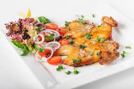 cuisine caucasienne poulet tabaka cuisine caucasienne photo stock image du déjeuner
