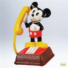 hallmark 2011 mickey s talking telephone mickey mouse disney