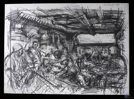 early production sketch film production from blade runner 1982