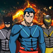 create your own man superhero comics book character dress up