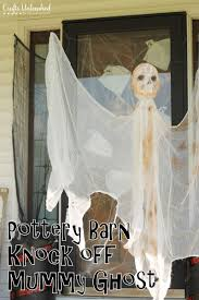 my mummy ghost diy outdoor halloween decorations version is above
