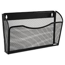 Wire Desk Organizer by Single Pocket Wire Mesh Wall File By Rolodex Rol21931