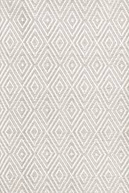Grey And White Outdoor Rug Dash And Albert Rugs Diamond Platinum White Indoor Outdoor Rug
