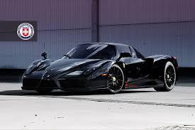 black enzo hre wheels murder out a enzo car tuning