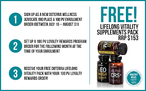 Doterra February 2017 Product Of The Month Get Doterra U0027s Lifelong Vitality Supplements For Free