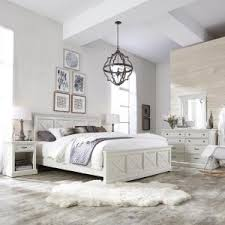 Bed Sets White Home Styles Seaside Lodge 5 Rubbed White King Bedroom