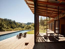 davis architecture design a home for nature lovers in healdsburg