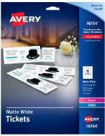 avery inkjet business cards ivory 2