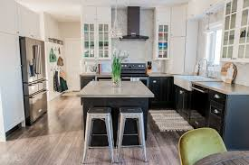 what color cabinets match black stainless steel appliances our kitchen makeover with black stainless steel appliances