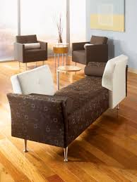 contemporary upholstered bench fabric for public buildings