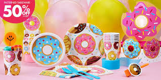 birthday party supplies donut party supplies donut birthday party party city