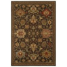 home decorators collection grayson brown 4 ft x 6 ft area rug