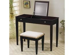 Bedroom Vanity Table Bedroom Sets White Wooden Makeup Vanity Table With Oval Mirror