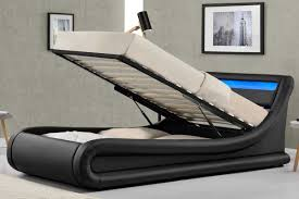 ottoman storage bed single