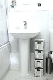 Storage Cabinet Kitchen Sink Cabinet Ikea Pedestal Sink Organizer Pedestal Sink