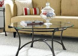 Coffee Table Glass Top Replacement - coffee table appealing round glass coffee table design small