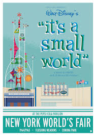 1964 World S Fair Map by 1964 1965 World U0027s Fair It U0027s A Small World Poster On Behance