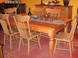 table cuisine en pin dining room furniture meubles des patriotes
